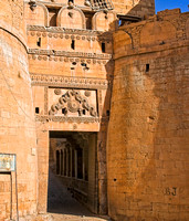 Jaisalmer - entrance to the fort